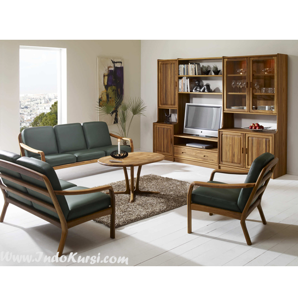 Set Kursi Sofa Ruang Tamu Vintage Minimalis