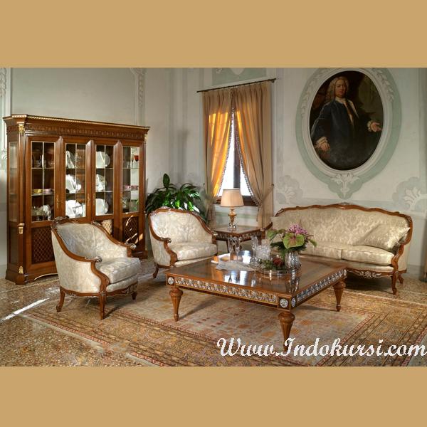 Kursi Ruang Tamu Sofa Warna Gold