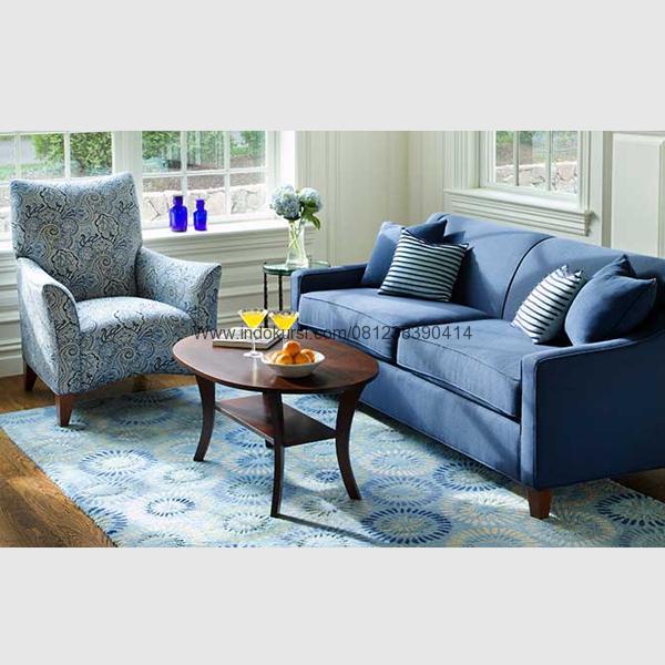 Kursi Sofa Ruang Tamu Minimalis Model Meja Oval Indo Kursi Mebel Jepara