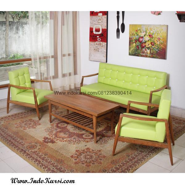 Set Kursi Ruang Tamu Model Vintage