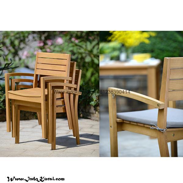 Kursi Cafe Minimalis Outdoor Kayu Jati Indo Kursi Mebel Jepara