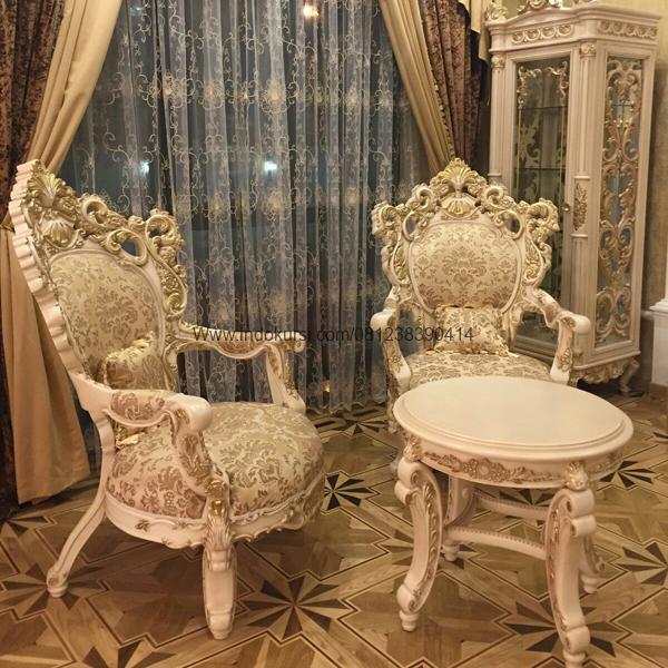 Kursi Sofa Teras Ukiran Clasik Elegant