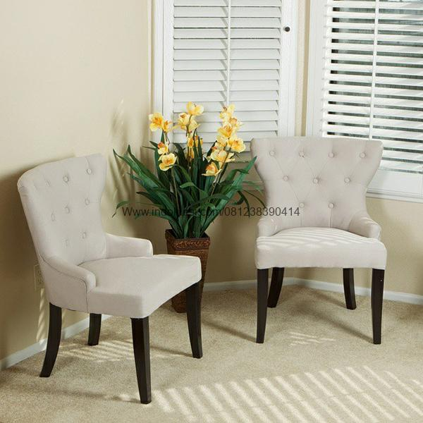 Set Kursi Sofa Teras Jok Vintage, Set Kursi Teras Sofa Scandinavian, Kursi Sofa Teras Romawi Kayu Jati Solid