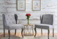 Set Kursi Teras Sofa Scandinavian, Kursi Sofa Teras Romawi Kayu Jati Solid