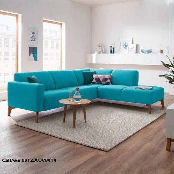 Kursi Tamu Sofa Modern Jok Vienna, indo jati, indo kursi