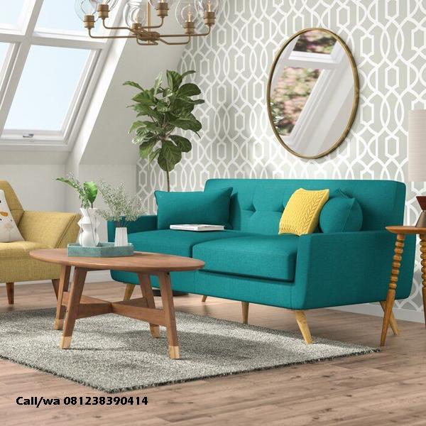 Kursi Tamu Sofa Modern Meja Oval, indo jati, indo kursi