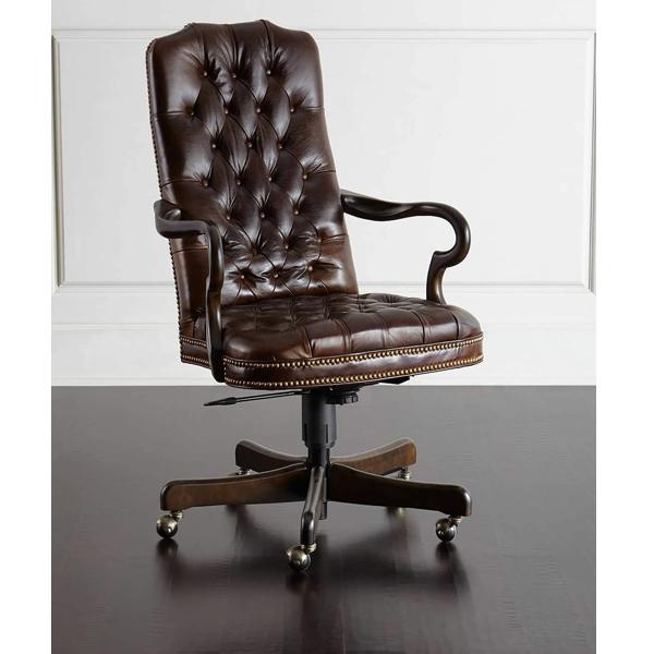 Kursi Kantor Tanganan Lengkung Modern, indo kursi, indo jati, berkah jati, lemari pajangan jepara