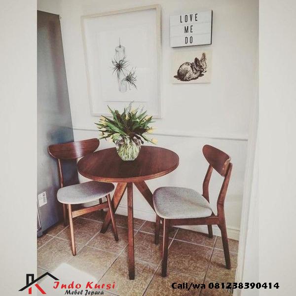 Set Kursi Cafe Ropan Jati, indo kursi, indo jati, berkah jati, lemari pajangan jepara