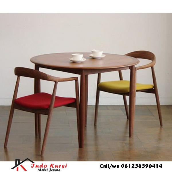 Set Kursi Restoran Selly Jati, indo kursi, indo jati, berkah jati, lemari pajangan jepara