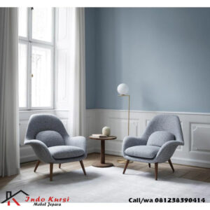 Set Kursi Sofa Teras Lengkung