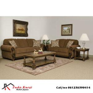 Kursi Tamu Sofa Lengkung Tanganan