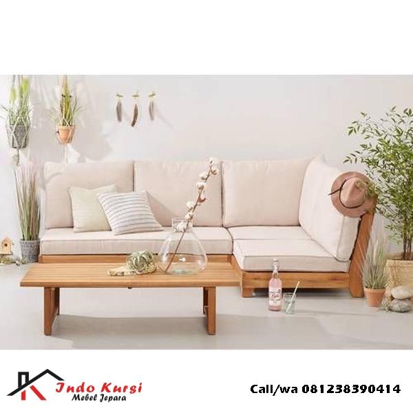 Kursi Tamu Sudut Minimalis Sofa