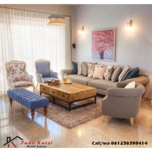 Set Kursi Tamu Sofa Modern