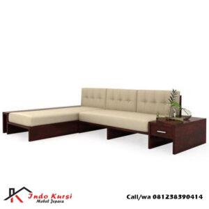 Kursi Tamu Sofa Bentuk Sudut