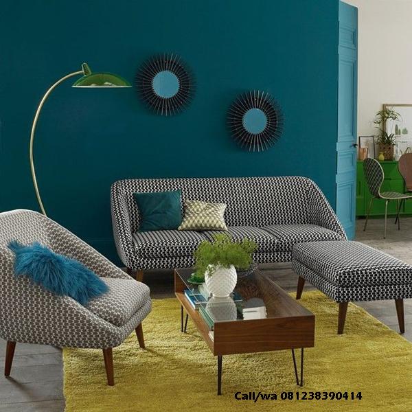 Set Sofa Retro Modern