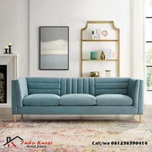 Bangku Sofa Panjang Model Jahitan