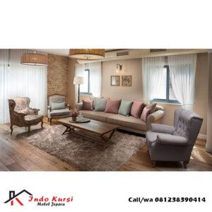 Set Kursi Tamu Sofa Keluarga Besar