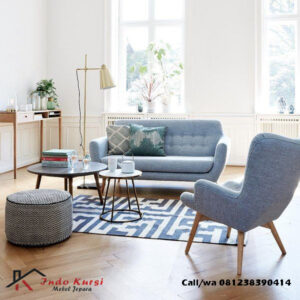 Set Kursi Tamu Sofa Scandinavian