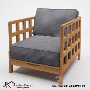 Kursi Cafe Sofa Single Minimalis
