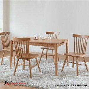 Set Kursi Makan Cafe Modern